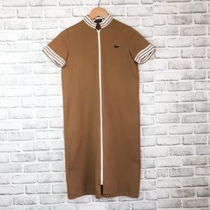 Vintage Lacoste Zipper Dress